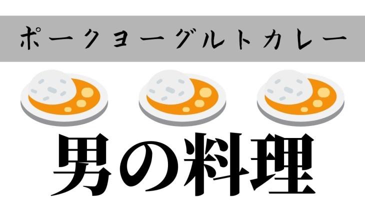 【男の料理】コストコの カレースパイスセットポークヨーグルトカレー