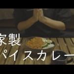 【休日料理】一人暮らしミニマリストが500円で作る自家製スパイスカレー (激辛)