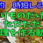 【節約レシピ】残りものだけで料理を作るだけの動画
