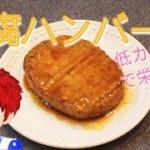 【料理】低カロリーで栄養満点!豆腐ハンバーグ【調理風景/レシピ動画/ASMR/Vtuber/Japanesefood】