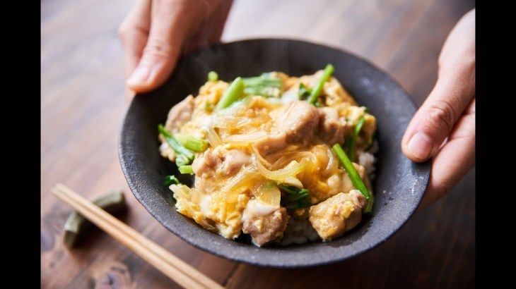 とろとろ卵の親子丼の作り方・レシピ