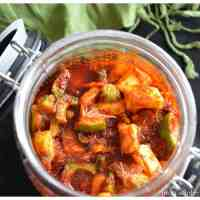 Mixed Vegetable Pickle with Lime and Mango