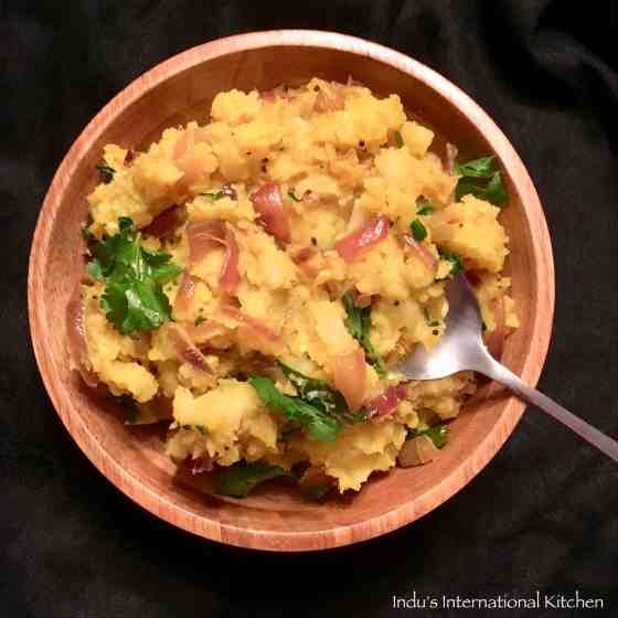 Indian Style Mashed Potatoes