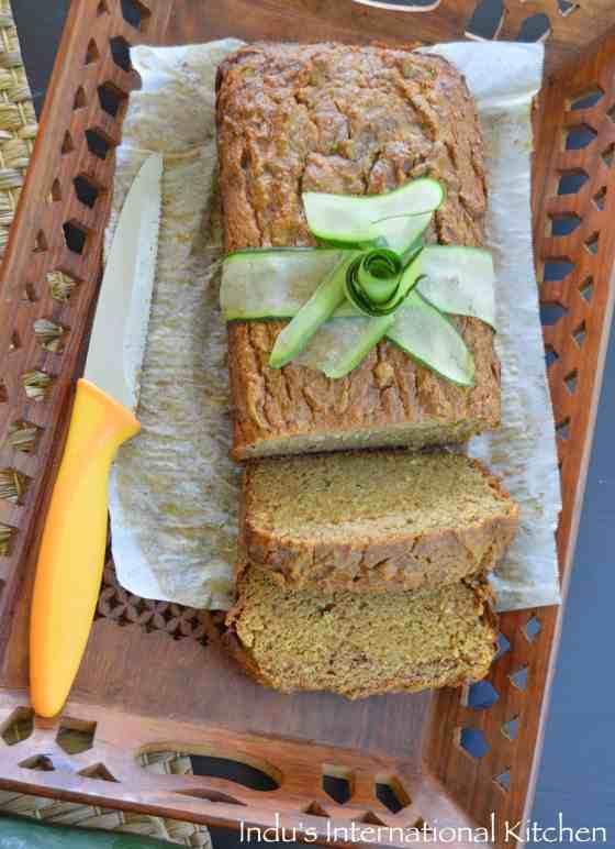 Paleo Zucchini bread nut free