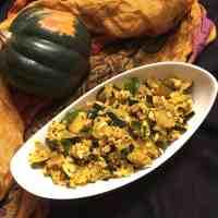 Indian Style Acorn Squash (Paleo, AIP, Vegan)