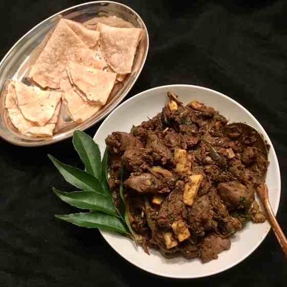 Chicken liver masala (paleo, aip, keto)