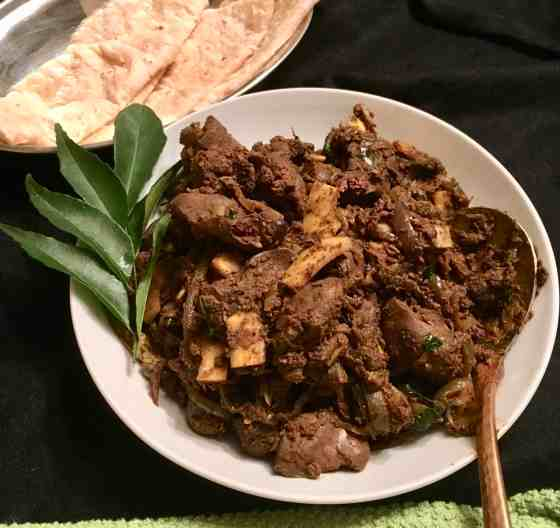 Indian style chicken liver (paleo, AIP, Keto)
