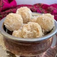 Coconut Ladoos || Coconut Snow Balls (Paleo, AIP, Keto)