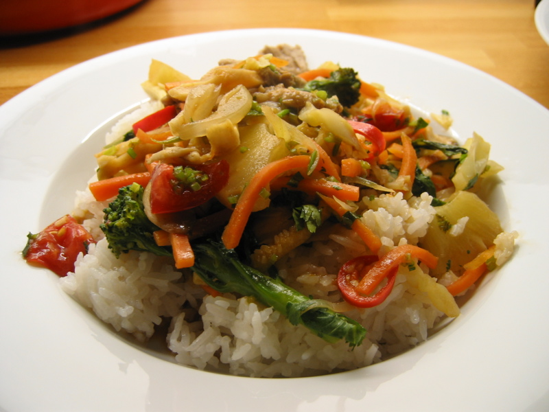Sweet and Sour Pork - Cookalicious Style