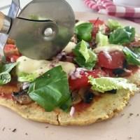 Pizza fit z patelni