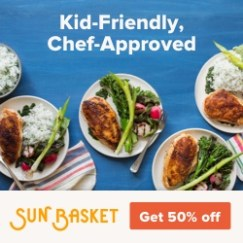 Sunbasket Meal Delivery Graphic