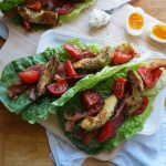 Whole30 Fried Avocado BLT - Finished Dish