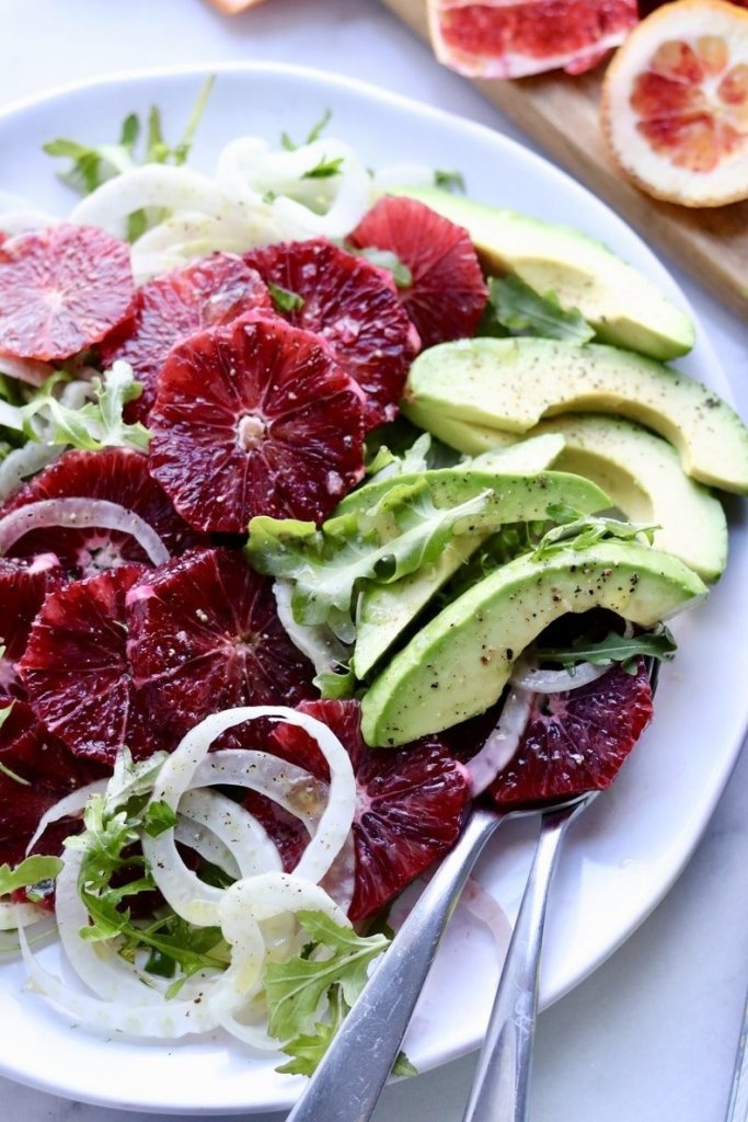 Winter Blood Orange Fennel Salad