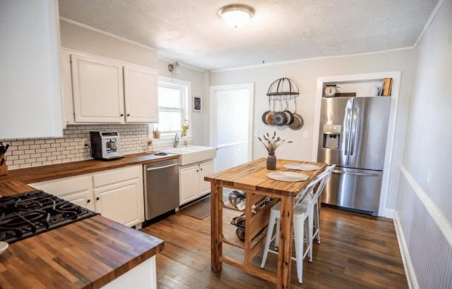 Budget Farmhouse Kitchen Remodel