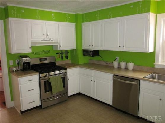 Before photo of the kitchen