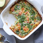 Whole30 Vegetable and Hashbrown Breakfast Casserole