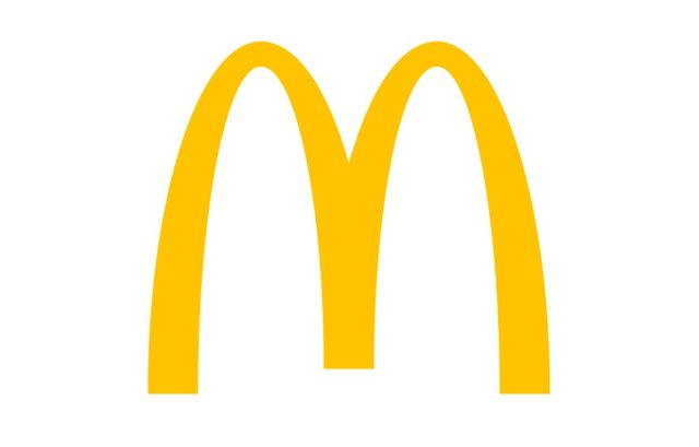 McDonald's logo, the #11 best fast food restaurant to eat Whole30 compliant.