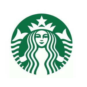 Round Starbucks logo