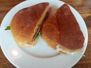 Scrumptious Del'Aziz sandwiches