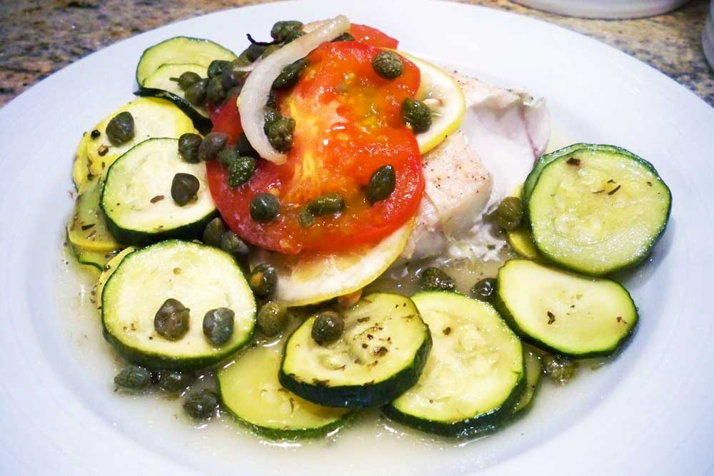 Fish Cooked en Papillote