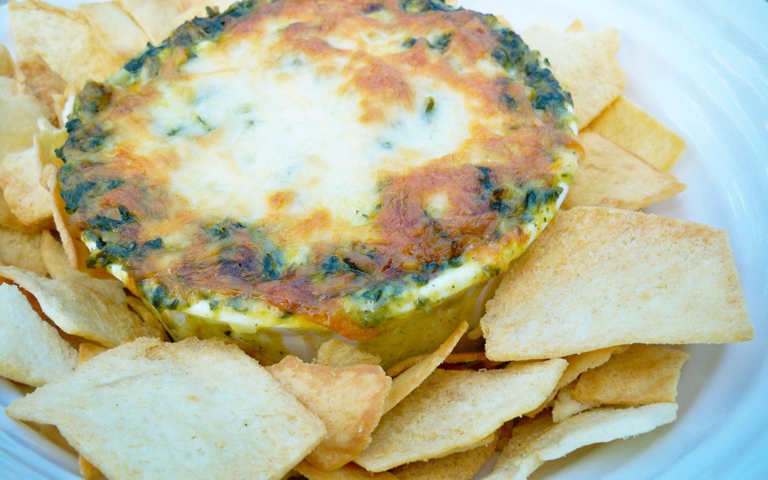 Brie and Bacon Spinach Dip