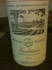 Rothschild White Bordeaux 2011