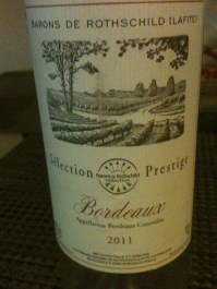 Rothschild White Bordeaux 2011