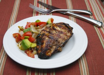 Balsamic Chicken with Hearts of Palm & Avocado Salad - Cook Better Than Most Restaurants