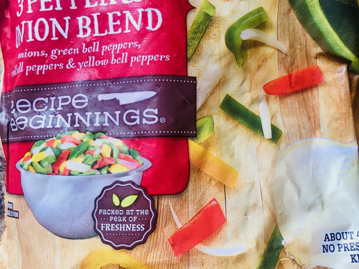 Easy Frozen Pepper and Onion Blend
