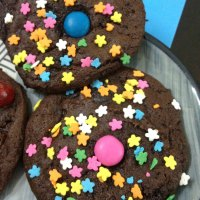 Skinny Devil's Food Cake Mix Cookies - Funfetti Friday!
