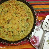 Crust-less Zucchini Pie