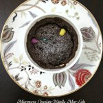 Microwave Chocolate Nutella Mug Cake Cook By Book