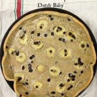 Skinny Banana Chocolate-chip Dutch Baby