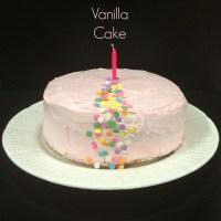 2-layer Pure Vanilla Cake ~ 1st Blogversary!!!