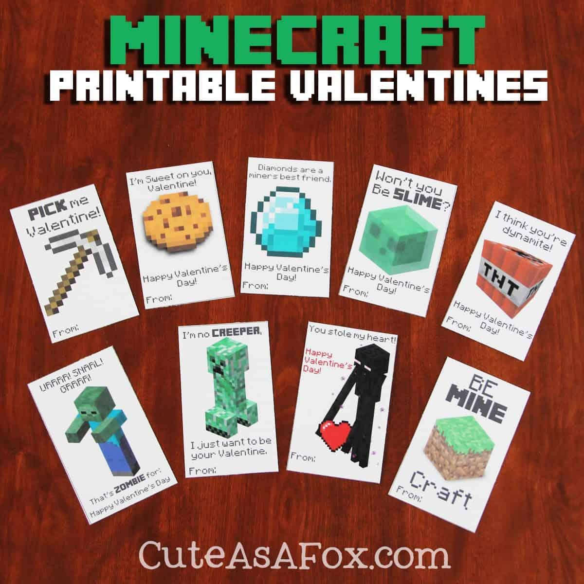 25 Sweet Valentines Day Printables Cook Craft Love