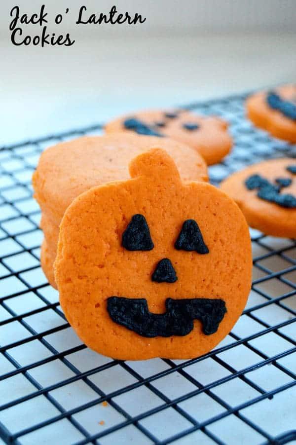 Jack O Lantern Cookies Cook Craft Love