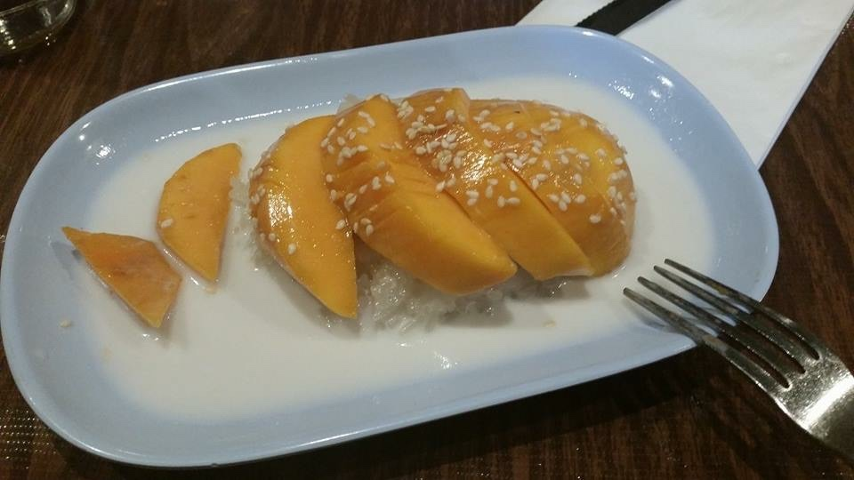 Mango sticky rice, Pok Pok, Portland OR