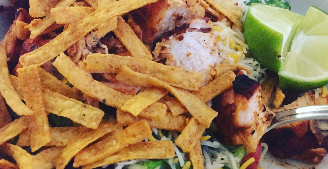 Southwest Grilled Chicken Salad | An Easy Weeknight Meal