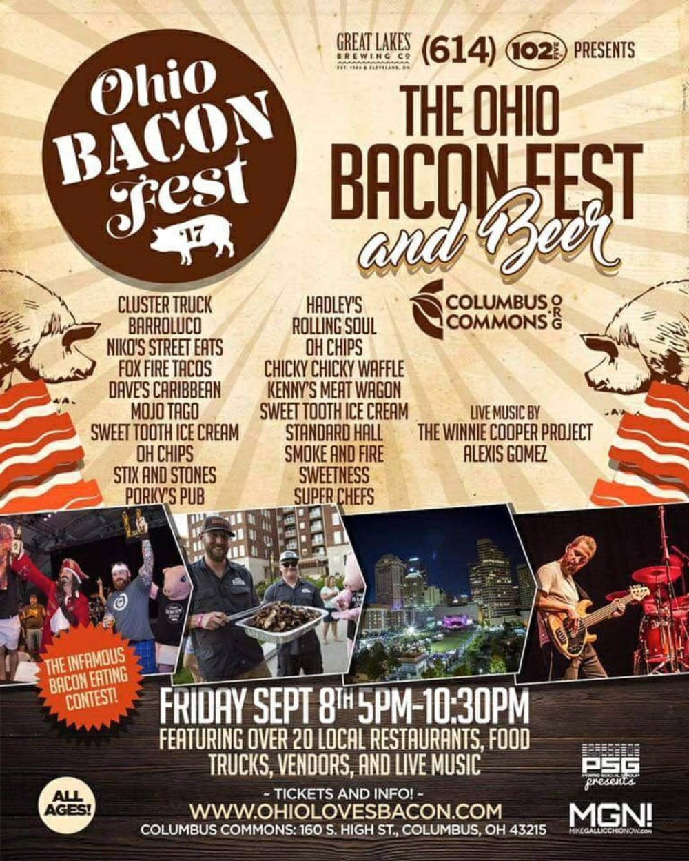 Ohio Bacon Fest's Flyer