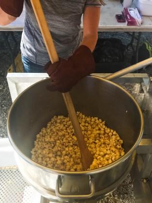 Kettle Corn in the making | Burwinkel Farms