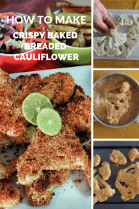 Breaded Cauliflower - Pinterest How to Make