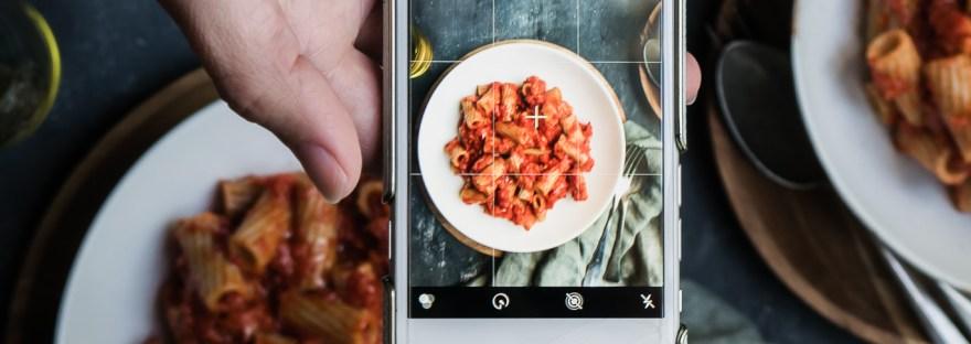 Pasta met geroosterde paprika en gerookte forel || cooked by Renske