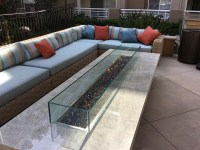 Commercial / Residential Montecito Large Fire Pit Table