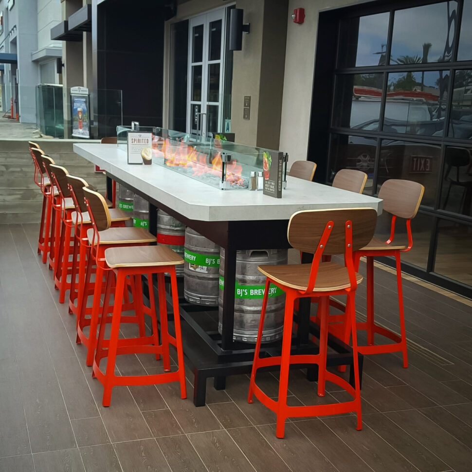 Custom California Built Fire Tables And Pits  Cooke Furniture