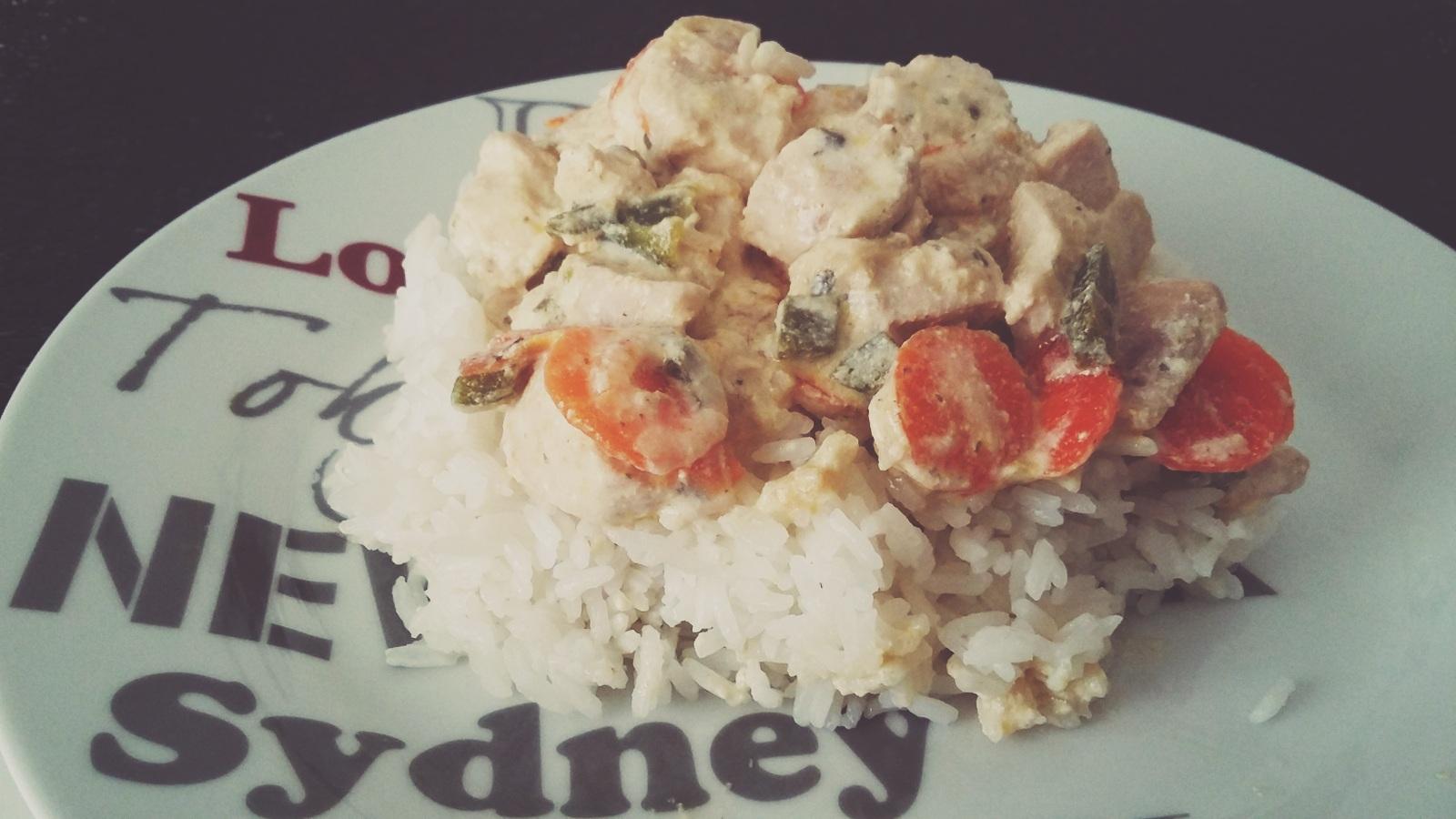 Filet de poulet sauce boursin ail et fines herbes recettes cookeo - Boursin cuisine ail et fines herbes ...