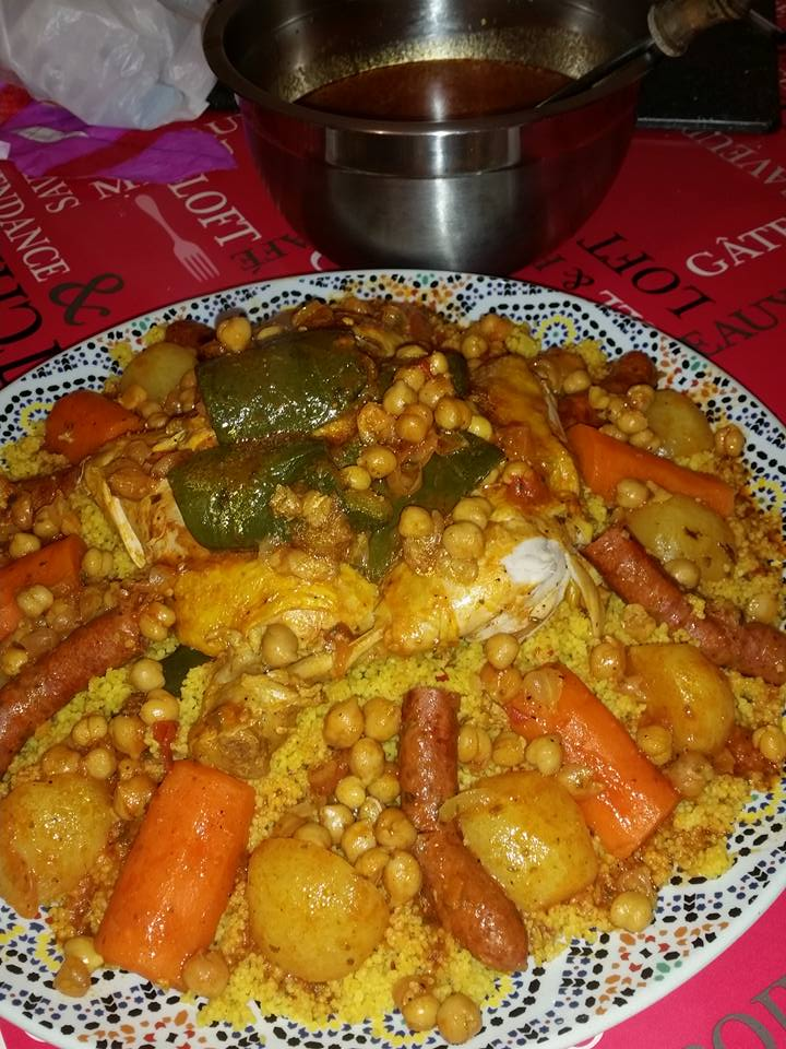 Couscous Avec Legumes Frais Recettes Cookeo