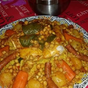Recette Couscous Cookeo