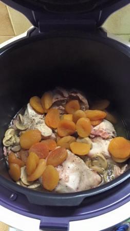lapin abricots sec