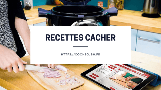 recette cacher cookeo