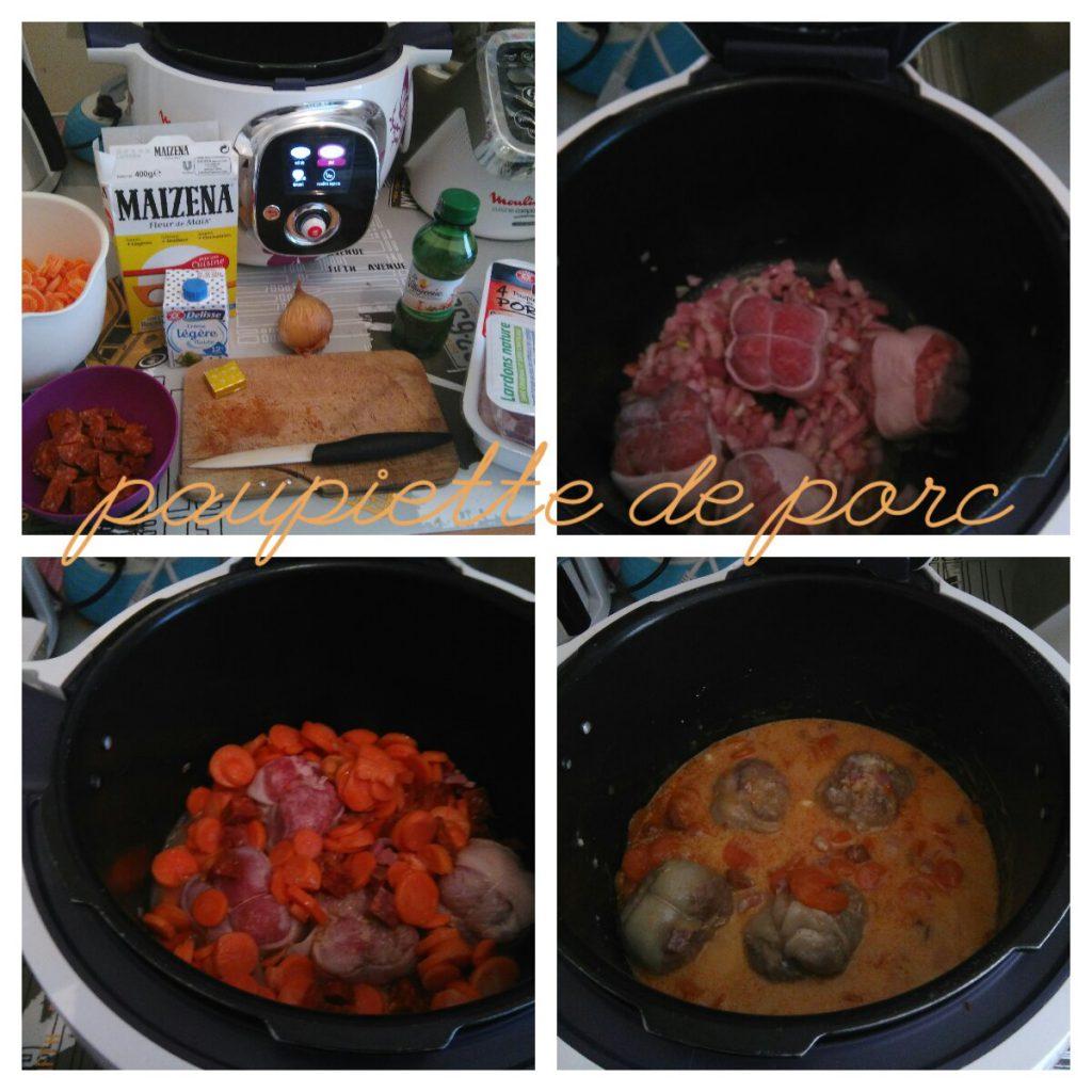 paupiette de porc chorizo recettes cookeo. Black Bedroom Furniture Sets. Home Design Ideas